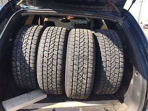 Set of winter tires and rims for sale