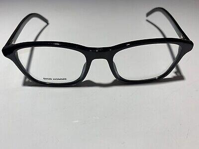ffc88cce4c Christian DIOR HOMME BLACKTIE 243 807 Black Glasses Eyeglasses Frames Size  52