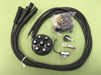 Oliver 60 70 80 Tractor Complete Ignition Tune Up Kit Points Condenser Wires