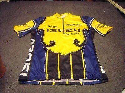 c641f333c Team ISUZU GO farther. Cyclist Jersey Size M in good condition