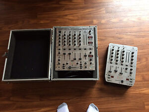 Mixers and flight case