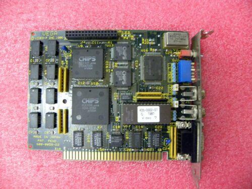 VIDEO 7 VEGA  EGA  CGA  MDA 8 BIT ISA Controller Graphics Adapter 256KB Memory
