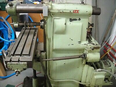 Milwaukee No1 Horizontal Mill 8 X 28.5 Table New Arbor