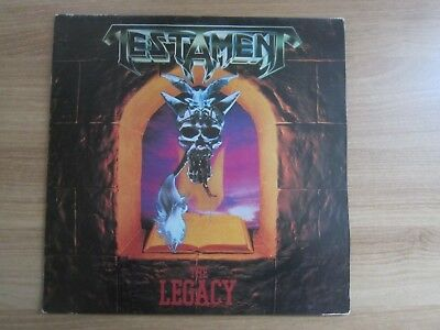TESTAMENT - THE LEGACY RARE KOREA MONO BACK COVER LP COLLECTIBLE