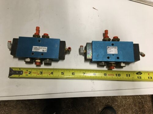 Two (2) Automatic Valve USA Pneumatic Valves, Model L2004ABAA