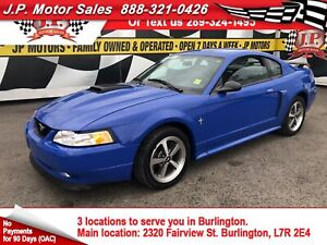 2003 Ford Mustang Premium Mach 1, Automatic, Leather, 98, 000km