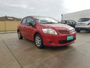 2009 TOYOTA COROLLA AUTOMATIC 5DR HATCHBACK LOW KMS Victoria Park Victoria Park Area Preview