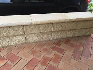 Boral Heathstone retaining wall blocks Gladesville Ryde Area Preview