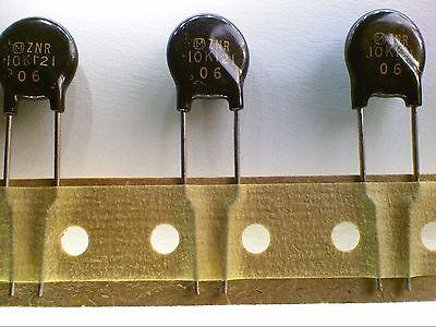 Lot Of 5 Panasonic 120v Varistors Mov 12mm Erz-tc6bb121