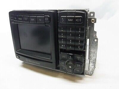 RADIO COMAND A2208203489 NAVI MERCEDES S-KLASSE COUPE C215 S500 CL500 W215 MB