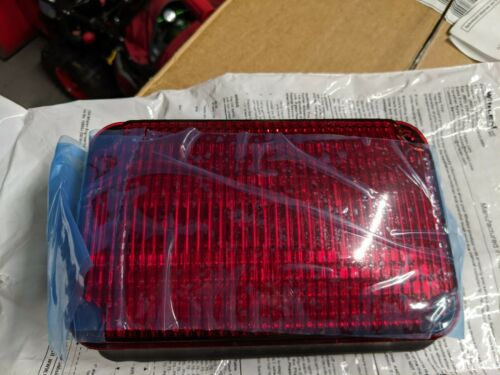 Whelen 600 Series Red Warning Super-LED - 60R02FRD