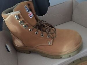 Steel blue work boots Craigieburn Hume Area Preview