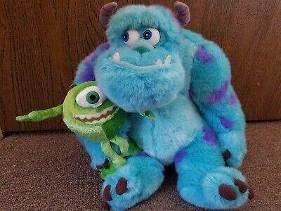 Monsters Inc Sully Sullivan Mike Disney ThemePark Original Authentic 12