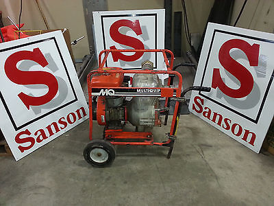 Used - Multiquip Water Trash Pump-model Qp30 Ita 3 Inlet Sanson Nw