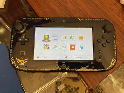 Nintendo Wii U 32GB Game Pad ONLY (LEGEND OF ZELDA WIND WAKER EDTION !)- TESTED!