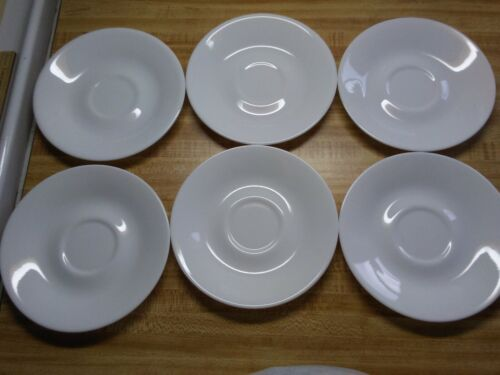 Corelle saucers Winter Frost White 6