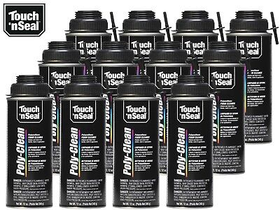 Touch N Seal Zero Voc Poly-clean Polyurethane Foam Cleaner-1 Case 1212oz Cans