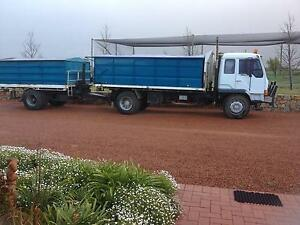 Mitsubishi Truck & Single Axle Pig Trailer York York Area Preview