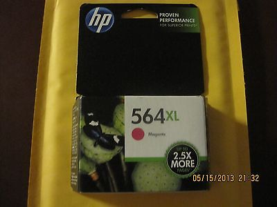 (**BRAND NEW HP 564XL MAGENTA  INK CARTRIDGE MODEL (CB324WN) FAST SHIP****)