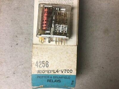 Potter Brumfield R10-e1-l4-v700 Relay 24 Volt Dc-nib