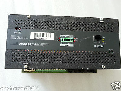 Schneider Power Measurement Xpress Card 7700ion Pm-9906b033-06
