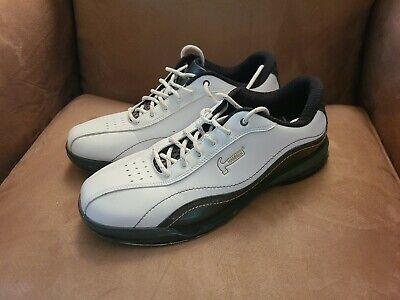 Hammer Force White/Carbon Men's Right Hand Bowling Shoes - Preowned