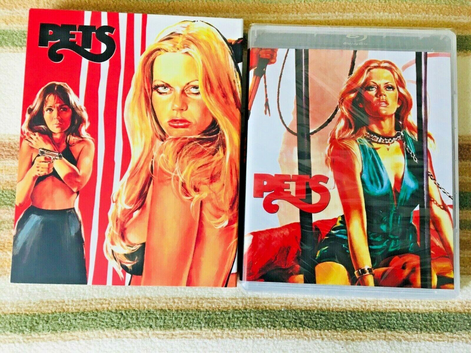 PETS Blu-Ray / DVD  70s Drive-in sex sleaze