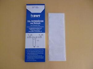 10 x BWT Filterhülsen Filter Benckiser Schutzfilter S GS/PN 16 3/4