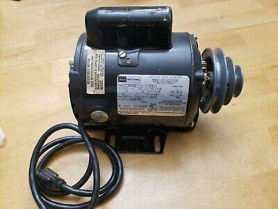 Craftsman 12 Hp 1725 Rpm 56 Frame -lathe Band Saw Drill Press Motor Wpully