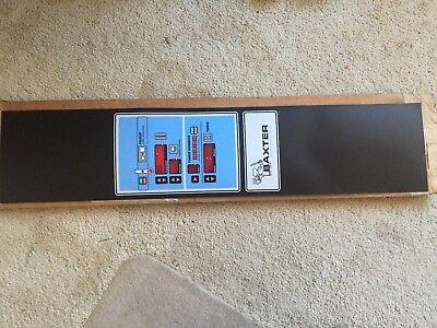 Hobart 01-100v16-00279 Label Control Panel