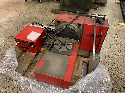 Haas Trt-210 2-axis Rotary Table Indexer 8.3 Dia With Control 4th 5th Axis