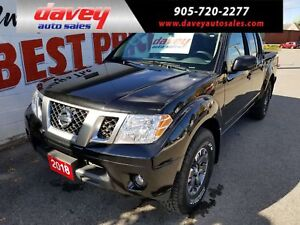 2018 Nissan Frontier PRO-4X 4X4, NAVIGATION, LEATHER, SUNROOF