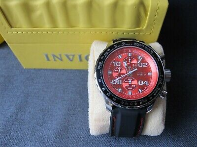 Almost Unused Invicta Limited Edition Aviator Chronograph Watch