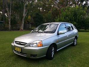 2003 Kia Rio Hatchback with only 103,286 km Salt Ash Port Stephens Area Preview