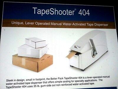 New Better Packages Gummed Tape Dispenser 4041 Case Of Tape Combo