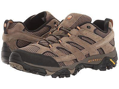 Merrell Mens Shoes Moab Vent 2 Walnut Hiking Trail J06011 Medium  Wide