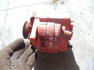 Case Vao Vac Tractor 12v Alternator Fan Belt Drive Pulley