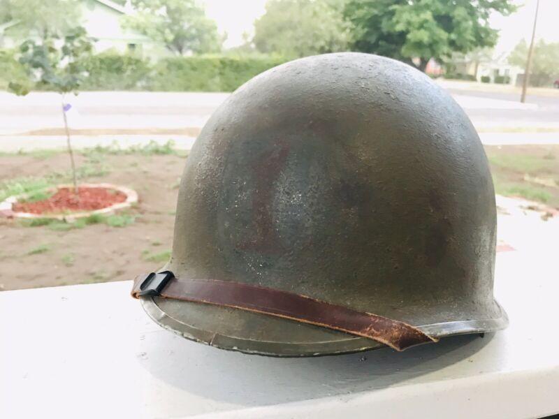wwii m1 helmet 1st ID