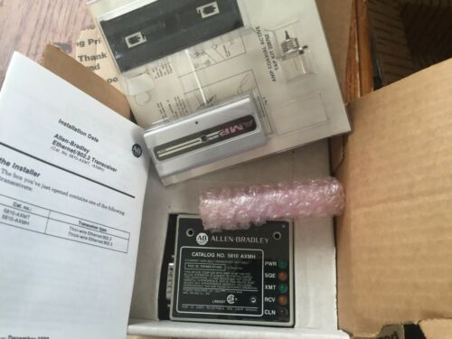 NEW ALLEN-BRADLEY 5810-AXMH THICK-WIRE ETHERNET TRANSCEIVER