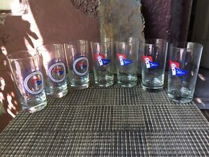 7 Collectable ESSO - Safety at sea Glasses - 12 fl oz