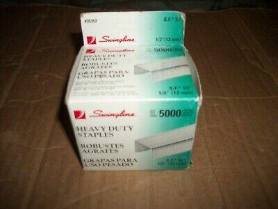 Vintage Swingline 12 Inch Heavy-duty Stapler Staples 5000 Count - 1 Box Sf 13