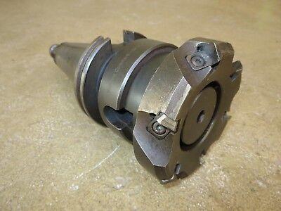 Deal Sandvik 50mm-vf2.406-sm12 Cat 50 Holder W Ra260.22-100-15 Shell Mill