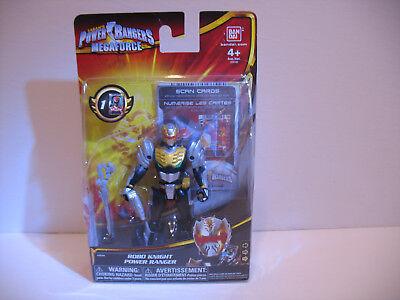 Saban's Power Rangers Megaforce action figure Black  Robo Knight Bandai #35100