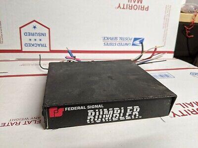 Federal Signal Rumbler-2 Amplifier Brain