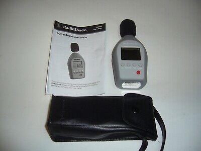 Radio Shack Digital Sound Level Meter 33-00099