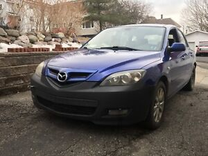 2007 mazda3 hatchback 5speed