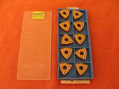 New Old Stock Kyocera Wnmg080412gt Wnmg433gt Ca5515 Carbide Inserts Lot Of 10