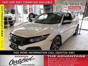 2017 Honda Civic SI + CERTIFIED 7YR/160000KMS!