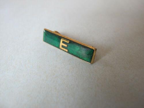 Green E Girl Guides Bar Badge