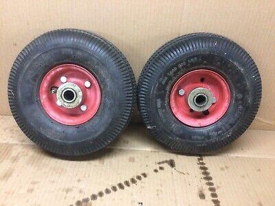 "LOT OF 5 Payson 3/"" x 1-3//4/"" Solid Rubber Heavy Duty Wheels"
